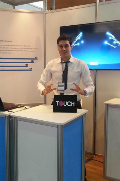 Feria Expo TIC – Stand de Touch